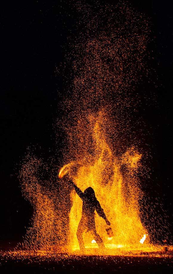 As long as it burns