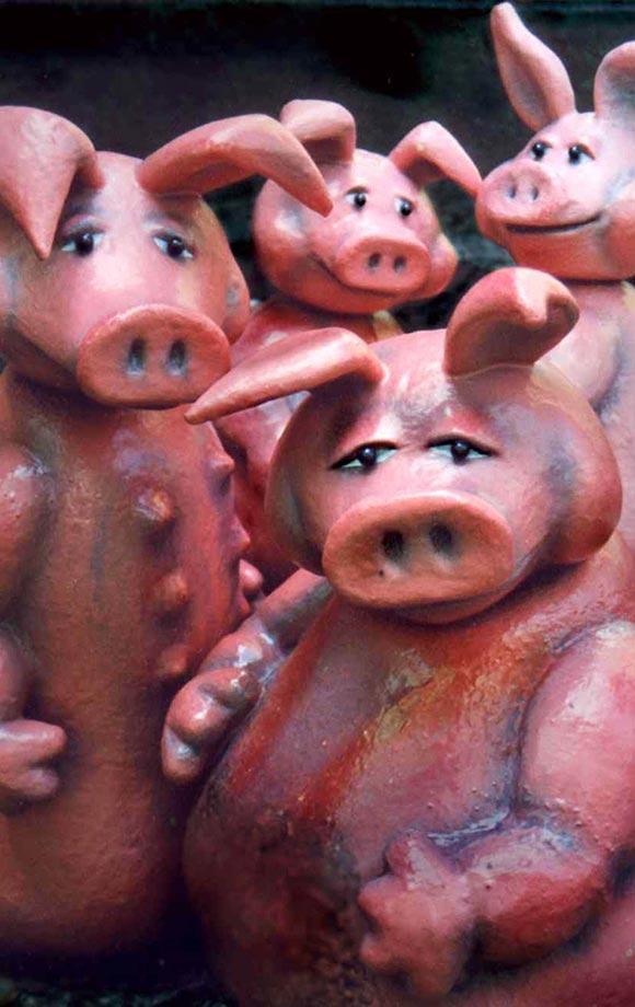 Die Schweinehochzeit